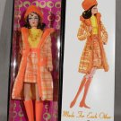 Barbie Doll Mod Made For Each Other Vintage Repro Brunette Gold Label Mattel
