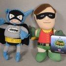 Lot Plush Batman and Robin Figure Bat-Mite Bleacher Creaturs Classic TV Show