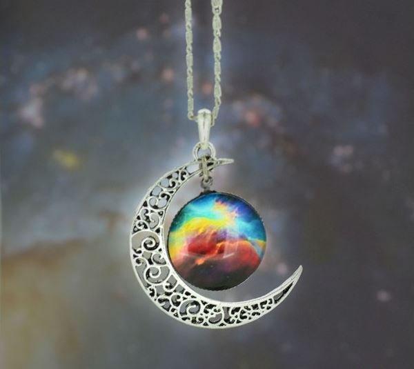 Galaxy Gemstone Necklace