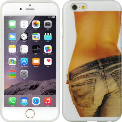 Plasic APPLE IPHONE6 (4.7�) CASE JEANS For iPhone 6, Multi-Color, Pictorial