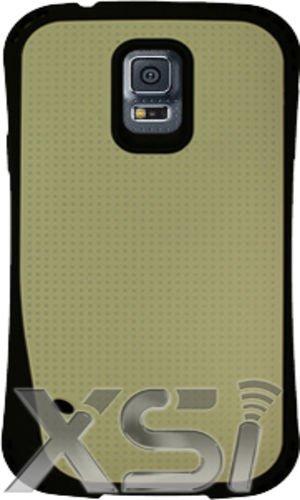 Samsung Galaxy S5 Armor Hybrid Off White Case