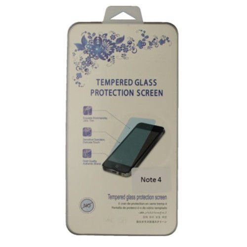 Anti-Scratch Samsung Galaxy Note 4 Tempered Glass Screen Protector Clear