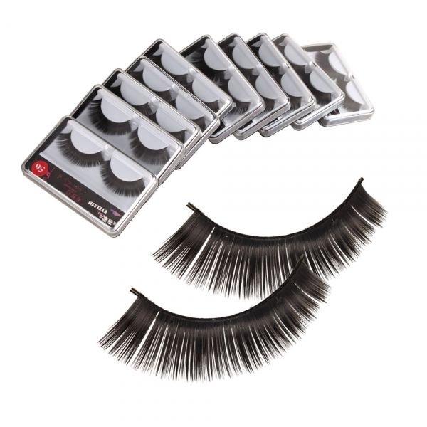10 Pairs Black False Eyelash Eye Lash Style 56