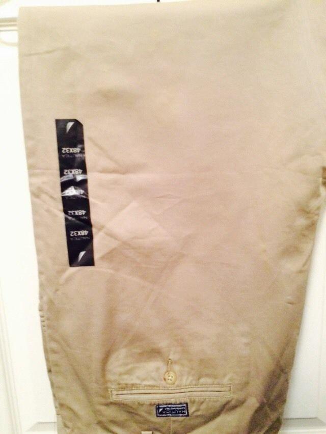 Nautica 48 X 32 Khaki Pants
