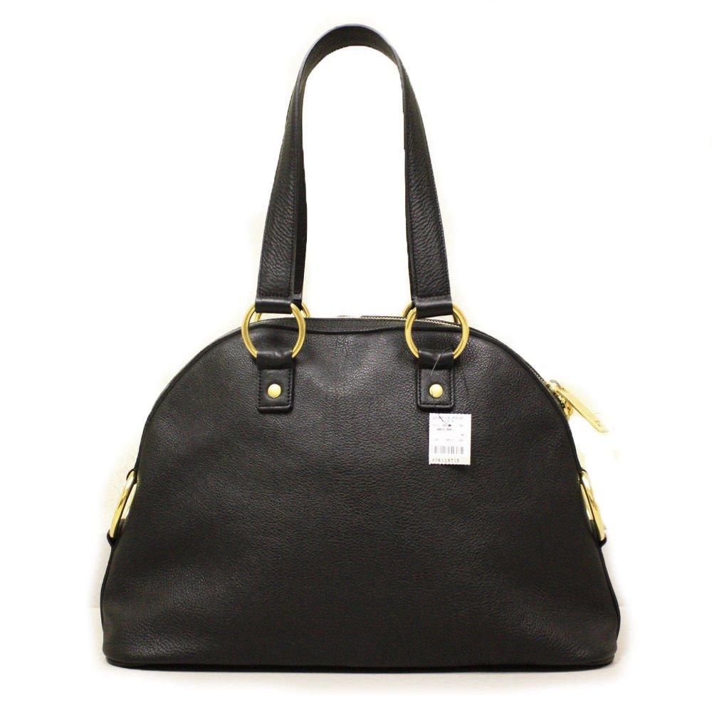 Yves Saint Laurent YSL Muse Black Leather Satchel Handbag