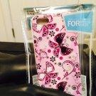 Iphone 5/5S 4 Lady Purple Butterfly Case