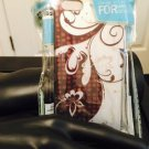 Iphone 5/5S Cream Silver Brown Flower Case