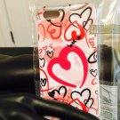 Iphone 5/5S White Forever Love Red & White Case