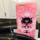 """Iphone 6 4.7"""" Black Magic Skull Pink Case"""