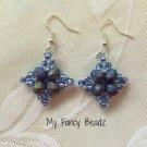 Indigo/Blue Diamond Earrings