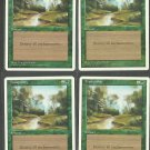 Tranquility x4 - NM - 4th Edition - Magic the Gathering