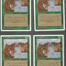 Durkwood Boars x4 - NM - 4th Edition - Magic the Gathering