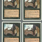 Vampire Bats x4 - NM - 4th Edition - Magic the Gathering