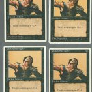 Unholy Strength x4 - Nm - 4th Edition - Magic the Gathering