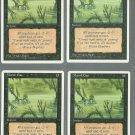 Marsh Gas x4 - NM - 4th Edition - Magic the Gathering
