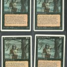 Scavenging Ghoul x4 - NM - 4th Edition - Magic the Gathering