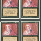 Abomination x4 - NM - 4th Edition - Magic the Gathering