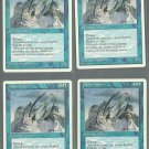 Zephyr Falcon x4 - NM - 4th Edition - Magic the Gathering
