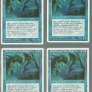 Merfolk of the Pearl Trident x4 NM 4th Edition
