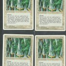 Wall of Swords x4 NM 4th Edition