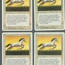 Pearled Unicorn x4 NM 4th Edition