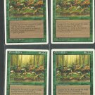 Elven Riders x4 - NM - 4th Edition - Magic the Gathering