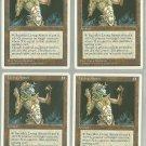 Living Armor x4 NM Chronicles Magic the Gathering