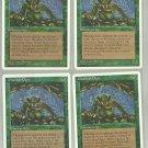 Ghazban Ogre x4 NM Chronicles Magic the Gathering