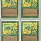 Emerald Dragonfly x4 NM Chronicles Magic the Gathering