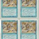 Wall of Vapor x4 - NM - Chronicles - Magic the Gathering