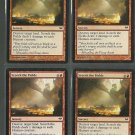 Scorch the Fields x4 NM Dark Ascension Magic the Gathering