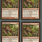 Rubblebelt Maaka x4 NM Dragons Maze Magic the Gathering