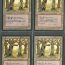 Havenwood Battleground x4 NM Fallen Empires Magic the Gathering