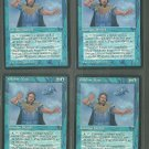 Vodalian Mage V1 x4 - Good - Fallen Empires - Magic the Gathering