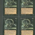 Armor Thrull V3 x4 - Good - Fallen Empires - Magic the Gathering