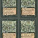 Initiates of the Ebon Hand V1 x4 - Good - Fallen Empires - Magic the Gathering