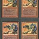 Orcish Spy V2 x4 - Good - Fallen Empires - Magic the Gathering