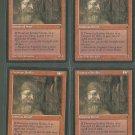 Dwarven Soldier V1 x4 - Good - Fallen Empires - Magic the Gathering