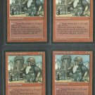Dwarven Lieutenant x4 Good Fallen Empires Magic the Gathering