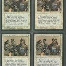 Icatian Infantry V4 x4 - Good - Fallen Empires - Magic the Gathering