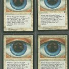 Prophecy x4 Good Homelands Magic the Gathering