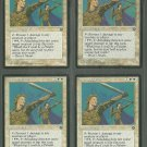 Serra Paladin x4 Good Homelands Magic the Gathering