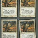 Mesa Falcon x4 Good Homelands Magic the Gathering