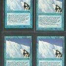 Glacial Wall x4 Good Ice Age Magic the Gathering