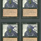 Hoar Shade x4 - Good - Ice Age - Magic the Gathering