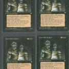 Lim-Dul's Cohort x4 - Good - Ice Age - Magic the Gathering