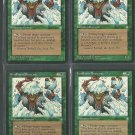 Fyndhorn Brownie x4 - Good - Ice Age - Magic the Gathering