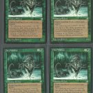 Dire Wolves x4 Good Ice Age Magic the Gathering