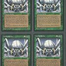 Woolly Spider x4 Good Ice Age Magic the Gathering