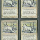 Arctic Foxes x4 Good Ice Age Magic the Gathering